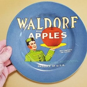 Waldorf Apples Decorative Plate